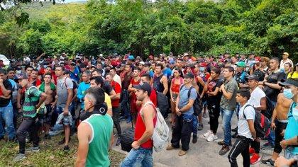 Manifestantes del Catatumbo habilitan corredor humanitario