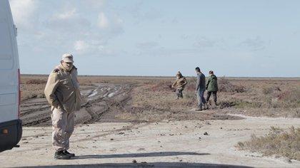 La zona donde encontraron el cuerpo en el sur de la provincia de Buenos Aires (Lihueel Althabe)