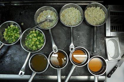 La propuesta de los chefs prioriza muchas de las tendencias actuales en la gastronomía: productos de estación, cosechas de cercanía (Floris Leeuwenberg)