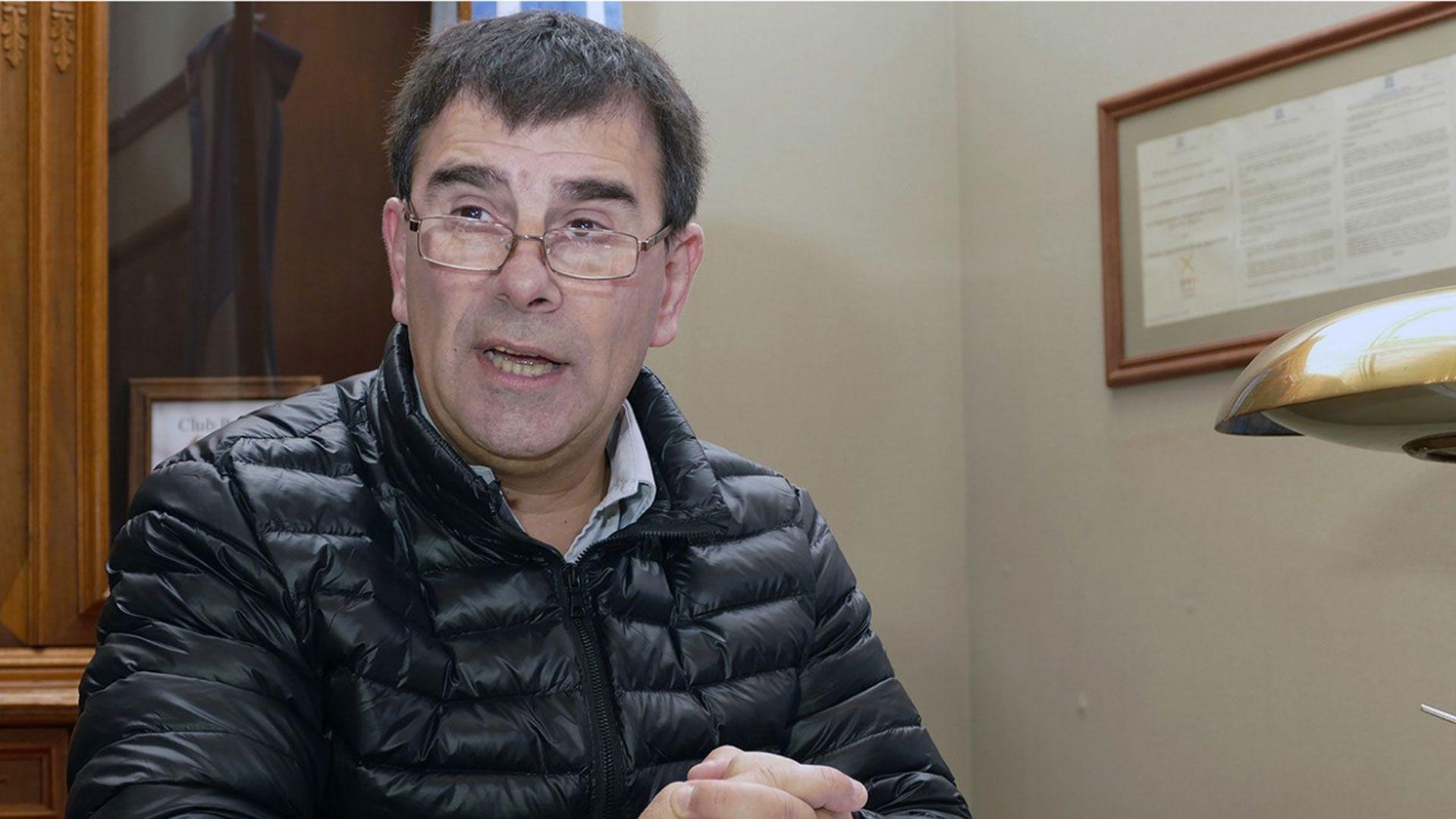 Hernán Bertellys, intendente de Azul. (azulnoticias.com.ar)