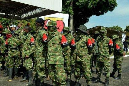 Las autoridades ofrecieron una recompensa de 500 millones de pesos al exjefe del Ejército de Liberación Nacional.  / POLITICA SUDAMÉRICA COLOMBIA SOCIEDAD / TWITTER