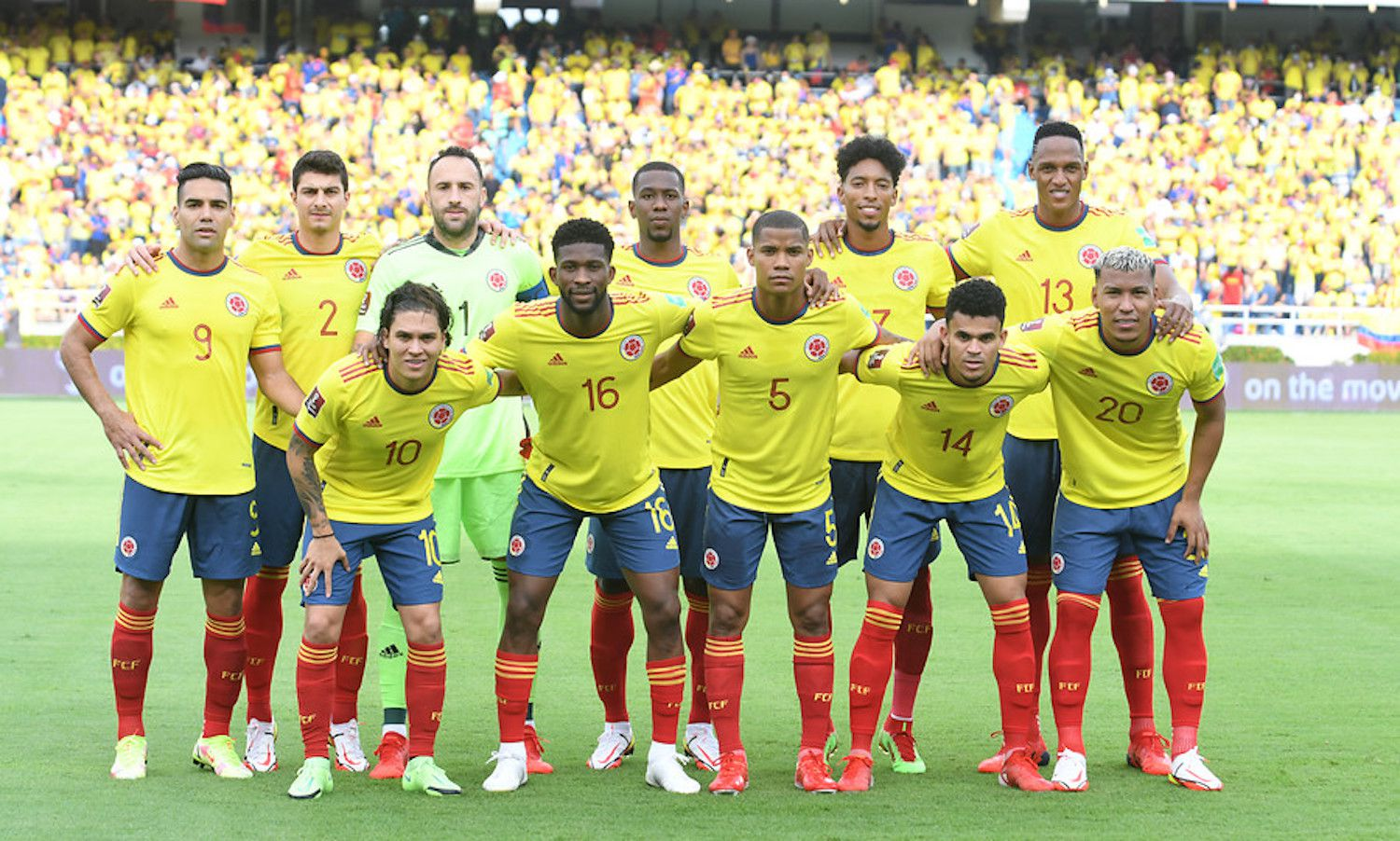 Colombia would present some modifications against Ecuador, for the 12th date of the South American Qualifiers.  Photo: courtesy Colombian Football Federation