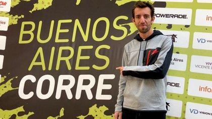 Luis Molina, representante argentino en los últimos Juegos Olímpicos