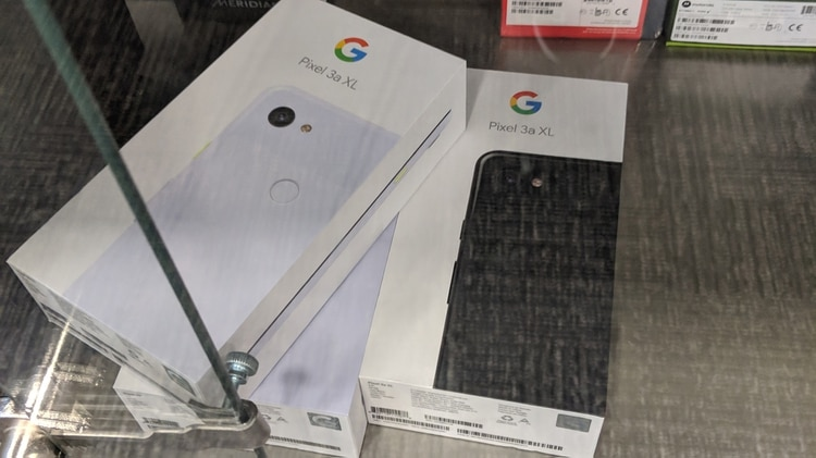 Las imágenes que se vieron del Google 3a XL en un local comercial en Ohio, Estados Unidos (Android Police)