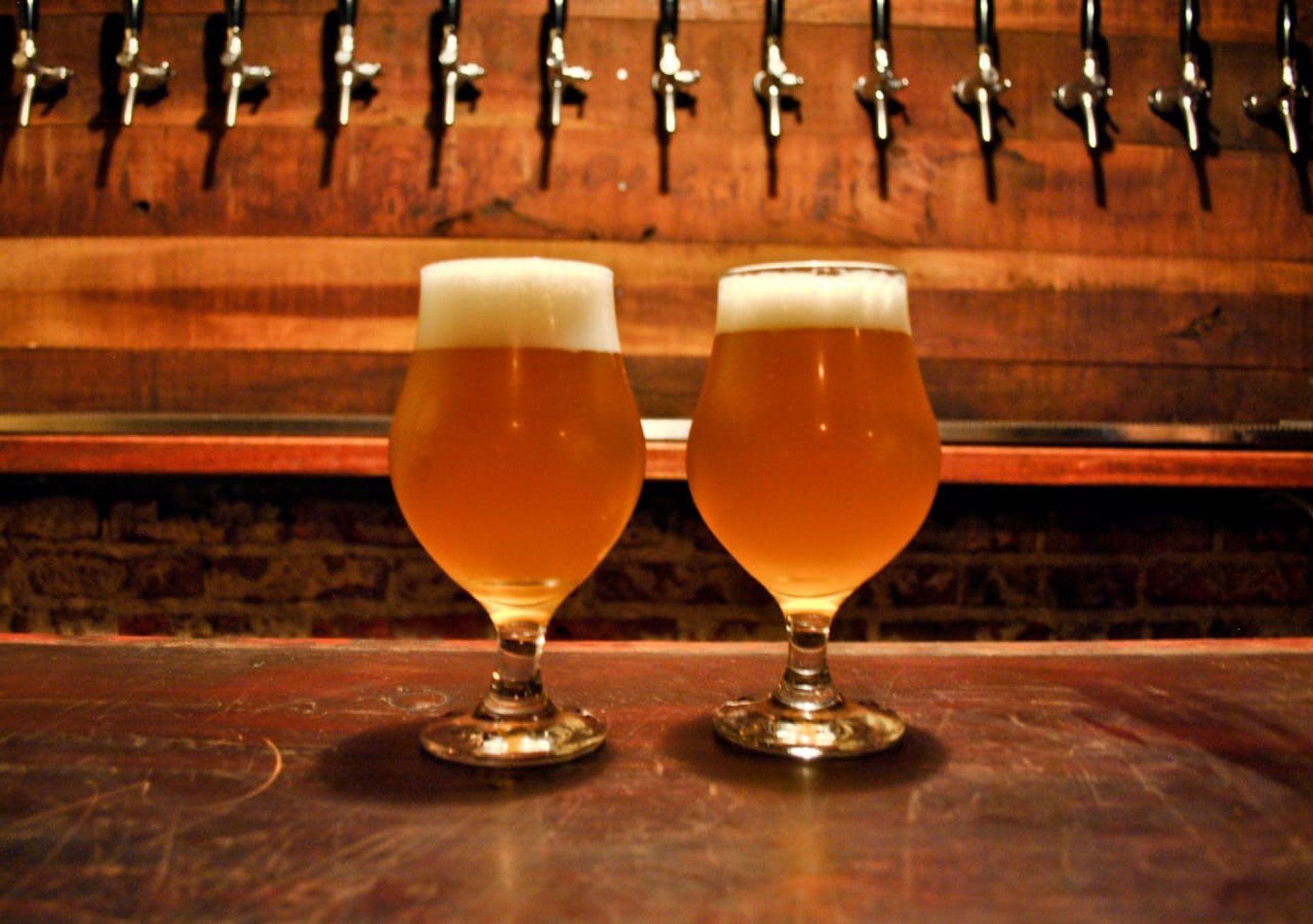 La Sunset Ale es una de las más pedidas en la cervecería