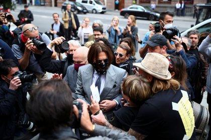 El juicio de Johnny Depp en Londres ha revelado detalles escabrosos de su relación con Heard REUTERS/Hannah McKay
