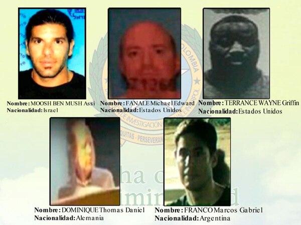 Dos estadounidenses, un argentino, un alemán y un israelí son buscados por Interpol