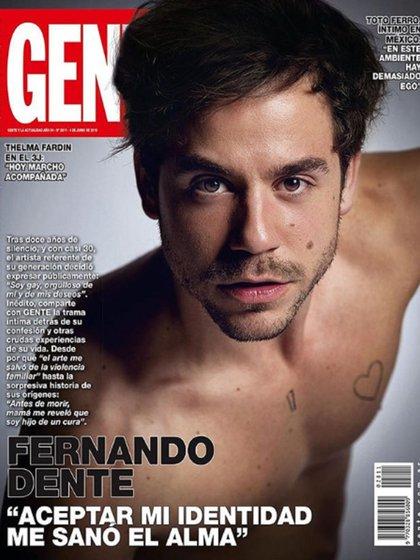 Fernando Dente reveló su historia de vida en una entrevista en la Revista Gente