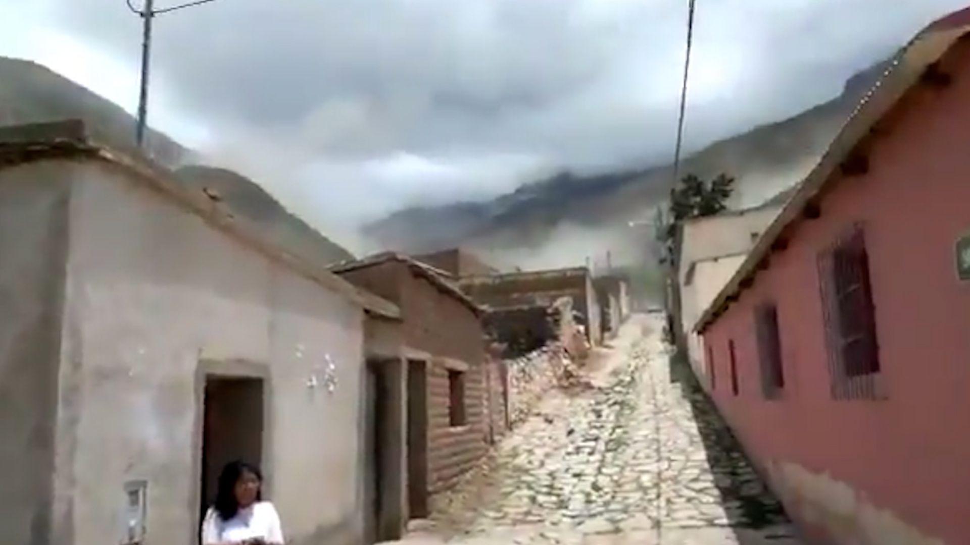 Sismo en Jujuy y Salta
