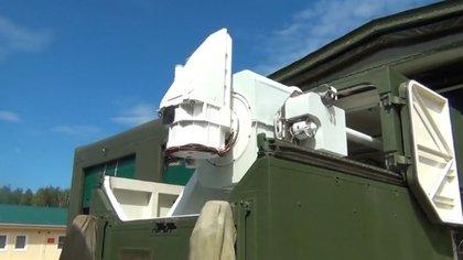 El sistema de defensa láser Peresvet