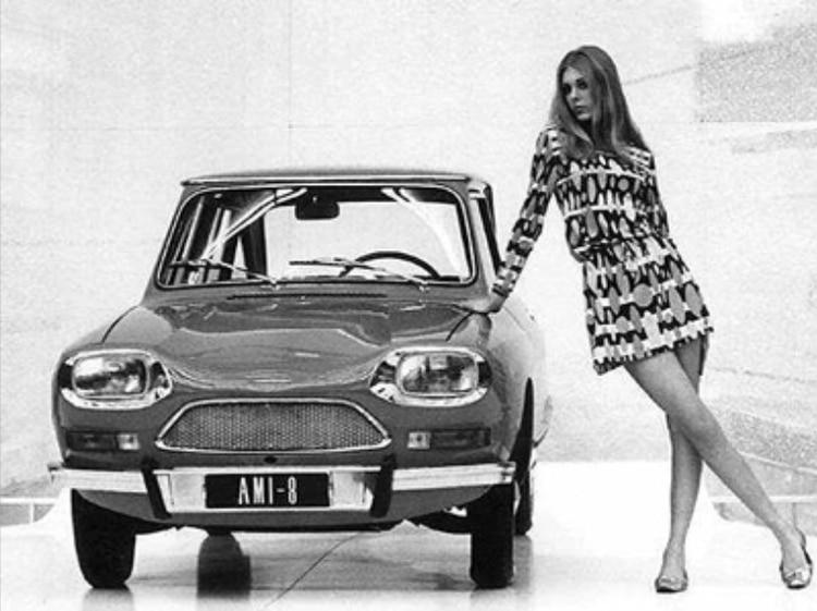 El Ami( compitió contra el Renault 6 y el Fiat 128.