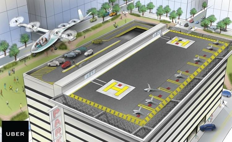 Los primeros viajes comenzarán en 2023 en Dallas y Los Ángeles (Foto: Uber)