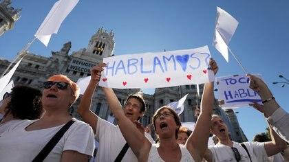 En Madrid piden por el diálogo (Reuters)
