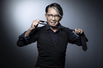 En 2005, reapareció como diseñador de decoraciones presentando Gokan Kobo (taller de los cinco sentidos), una marca de vajilla, objetos del hogar y muebles (Photo by JOEL SAGET / AFP)