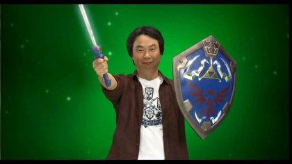 Shigeru Miyamoto, el genio detrás de Super Mario y The Legend of Zelda, entre otros.