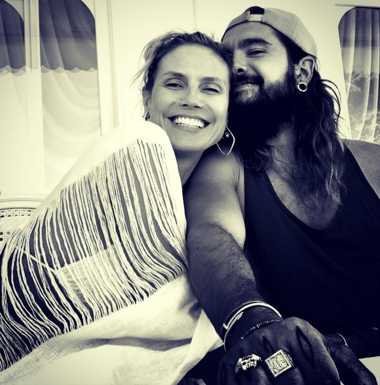 Heidi suele compartir imágenes románticas junto a Tom