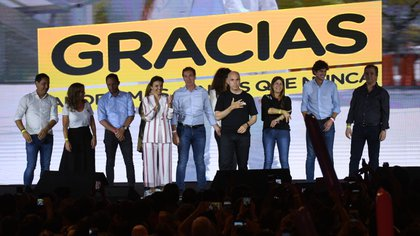Horacio Rodríguez Larreta se impuso en las elecciones porteñas (Télam)