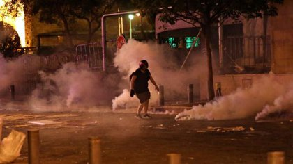 Protestas en Líbano. (Reuters)