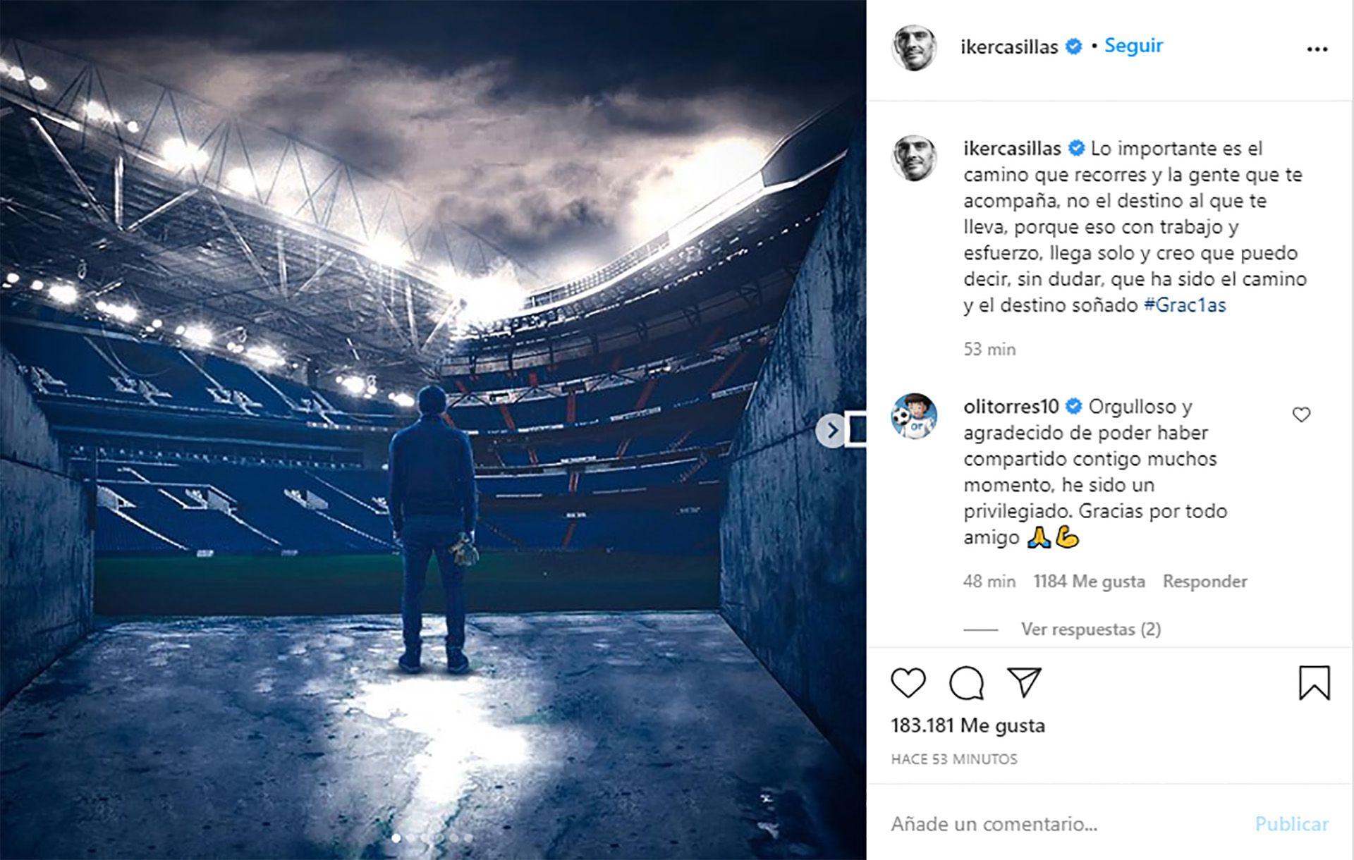 Retiro de Iker Casillas