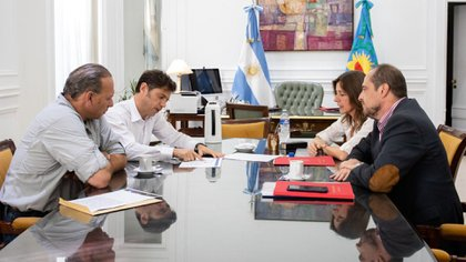 Sergio Berni, y su par nacional Sabina Frederic no mantienen una buena relación aunque en público lo disimulen