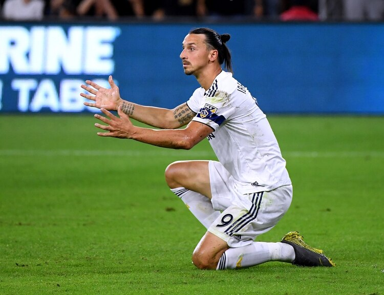 Zlatan ya se despidió de la MLS (AFP)