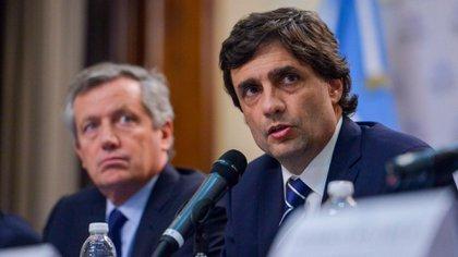 El ministro de Hacienda, Hernán Lacunza, a comienzos de semana cuando presentó en la Comisión de Presupuesto y Hacienda el Presupuesto para 2020