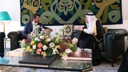 Marcelo Gilardoni presentó Cartas Credenciales en octubre de 2018 ante el gobierno del Reino de Arabia Saudita
