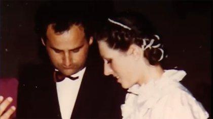 Jean Claude y Florence contrajeron matrimonio el 19 de septiembre de 1980. El lugar escogido para el festejo fue la propia casa de la familia de la novia, cerca de Annecy. Hubo 150 invitados (capturas Youtube)