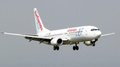 Uno de los aviones de la flota de Air Europa