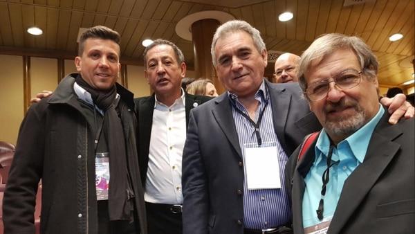 Juan Pablo Brey, Omar Maturano y Juan Carlos Schmid