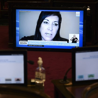 Laura Rodríguez Machado, senadora del PRO de Córdoba