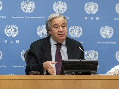Guterres advirtió también sobre el uso de datos personales (LEV RADIN / ZUMA PRESS / CONTACTOPHOTO)