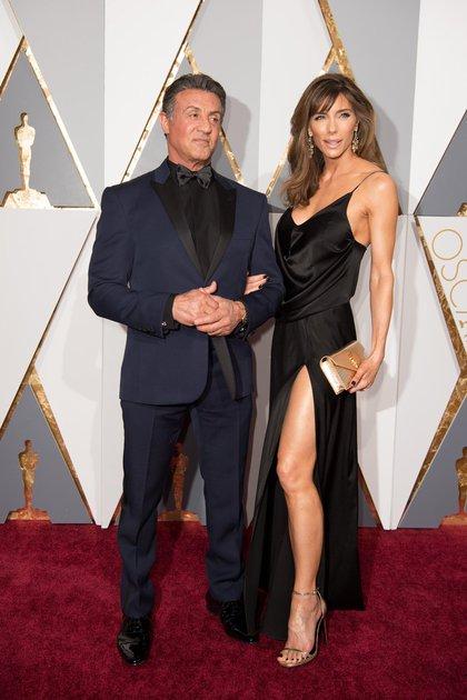 Sylvester Stallone y su mujer, Jennifer Flavin