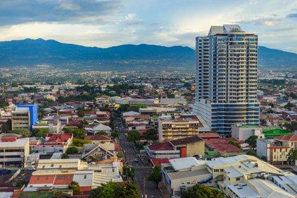 Imagen aérea de San José, Costa Rica (Shutterstock)