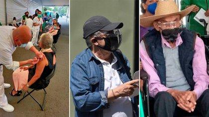 En fotos: los políticos y estrellas de tv que ya se vacunaron contra COVID-19