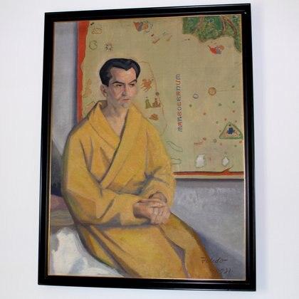 Retrato de Lorca, realizado por Gregorio Toledo