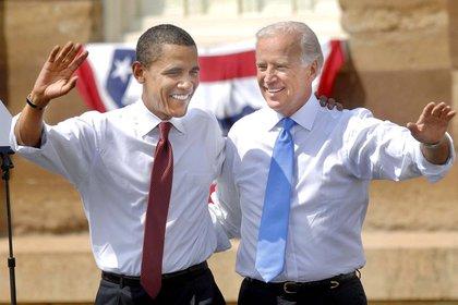 Joe Biden y Barack Obama durante la campaña presidencial de 2008. Foto: Shutterstock