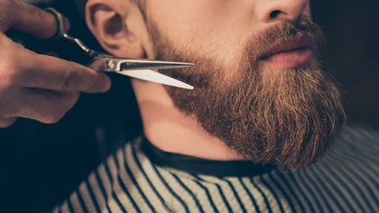 Mantener la barba en cuarentena en casa también es posible sin la necesidad de ir a una barbería (Shuttertock)