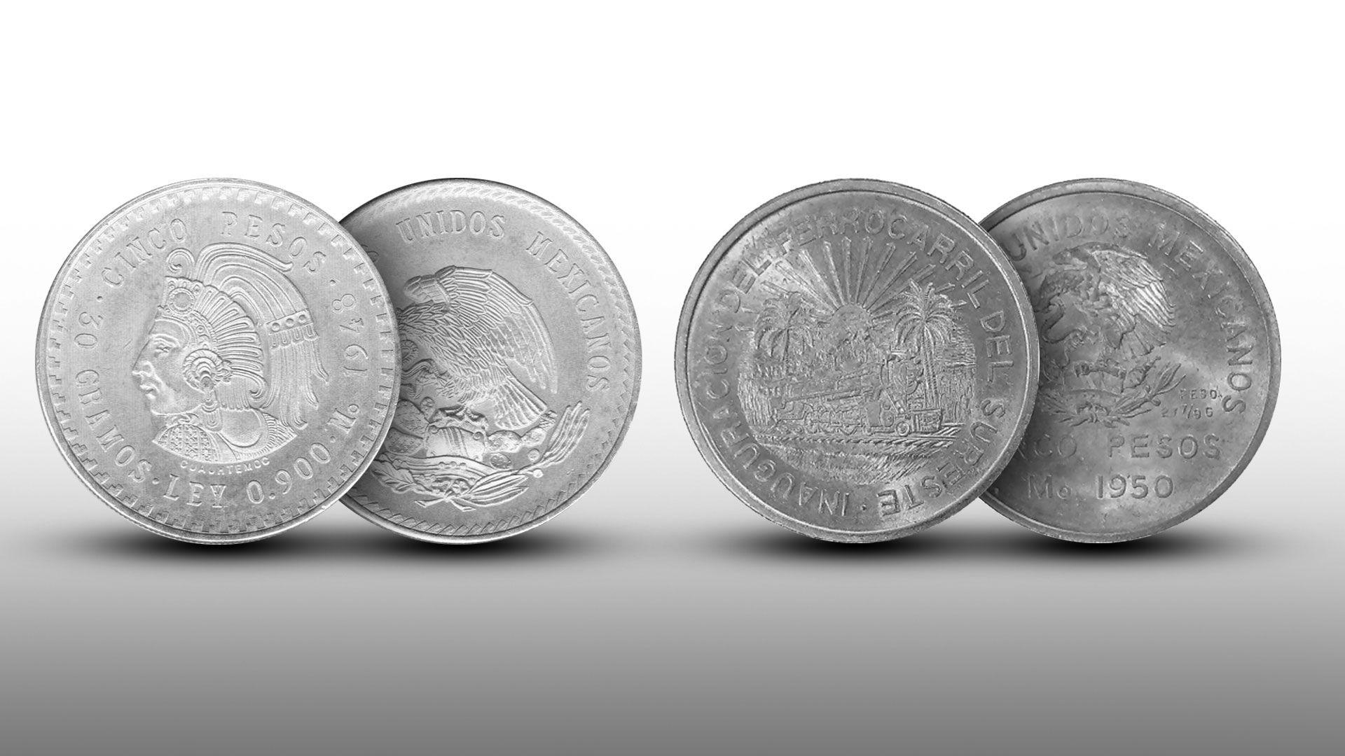 monedas plata. Infobae