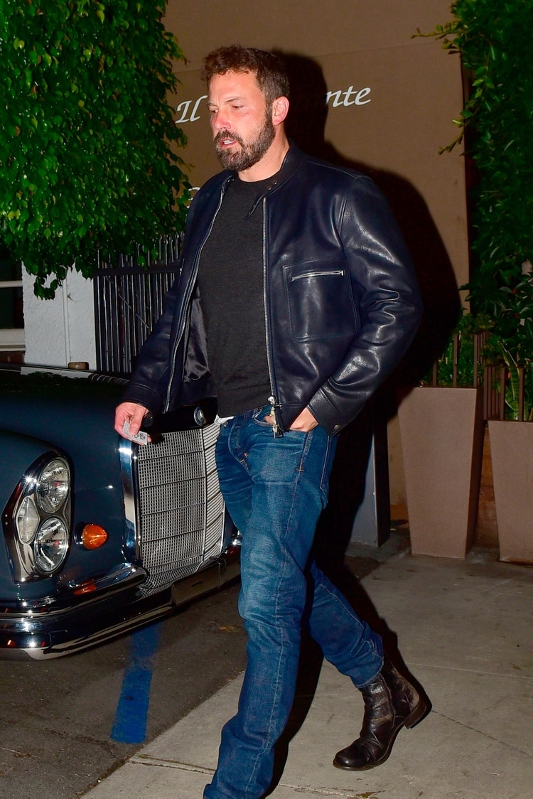 El actor de Hollywood Ben Affleck fue visto cenando con Laurene Powell (Grosby Group)