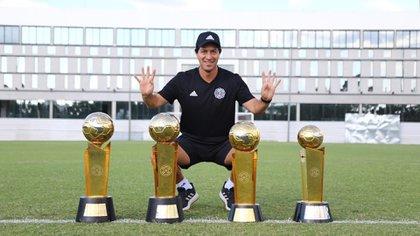 Tetracampeón: el Olimpia de Garnero ganó los últimos cuatro torneos locales en Paraguay (IG: @el.danigarnero)