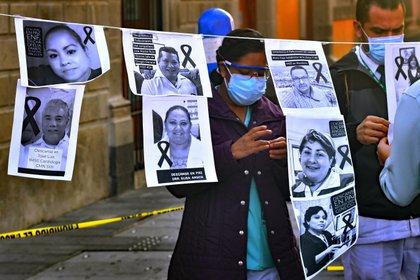 Solo la Ciudad de México representa el 15.8% de todas las muertes a nivel nacional (Foto: EFE / Jorge Núñez / Archivo)