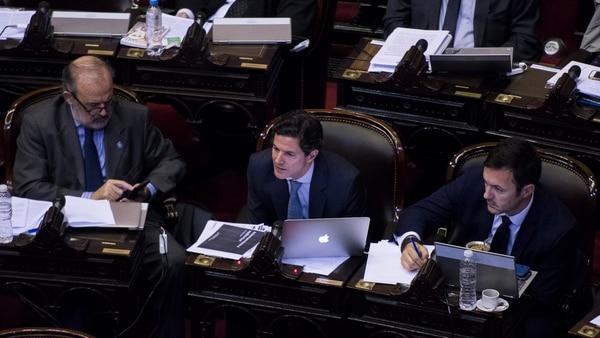 Luciano Laspina, presidente de la Comisión de Presupuesto