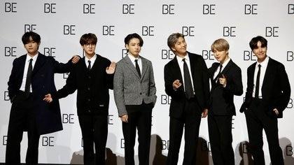 Los miembros de la banda k-pop BTS podrían enlistarse al ejército juntos para cumplir su servicio militar obligatorio (Foto: REUTERS)