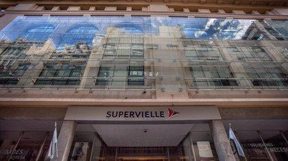 La casa central de Banco Supervielle