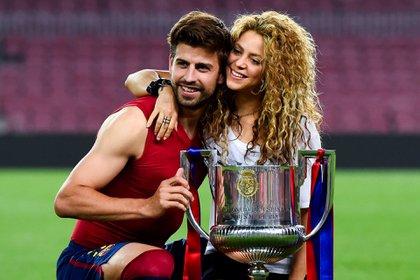 Gerard Pique y Shakira formaron una familia conformada por Milan y Sasha. Foto: Getty Images.