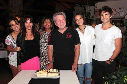 El cumpleaños de Emilio Disi en Villa Carlos Paz con su familia (2017)