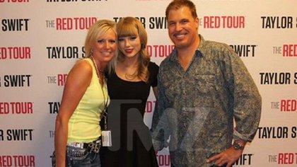 Esta es la foto por la cual Taylor menciona que el DJ la tocó (Foto: TMZ)