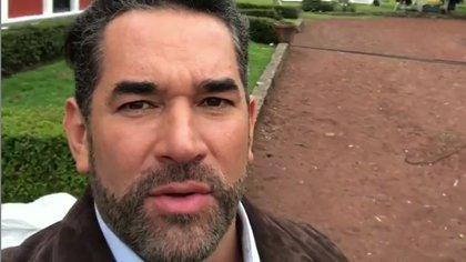 Eduardo Santamarina también ocultó que había dado positivo a COVID-19 aunque dijo que no había tenido ningún síntoma  (Foto: Instagram @eduardosantamarinamx)