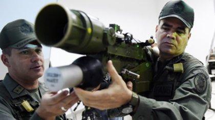 La FANB cuenta con armas poderosas pero no cumple con la defensa del territorio y la soberanía (AFP)